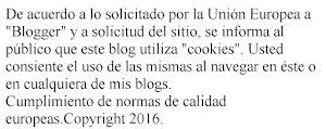 """Normas de la Unión Europea con relación a """"cookies""""."""