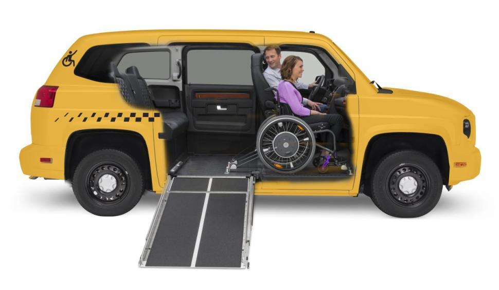 autos am 233 ricaines mv 1 empire taxi le taxi accessible aux personnes en fauteuil roulant 224
