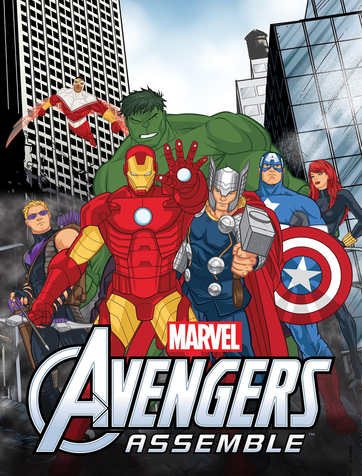 Avengers Assemble Temporada 1 (Latino)