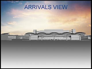 JKIA Airport Terminal 4's Exterior Renderings