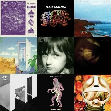 Playlist juillet-août 2014