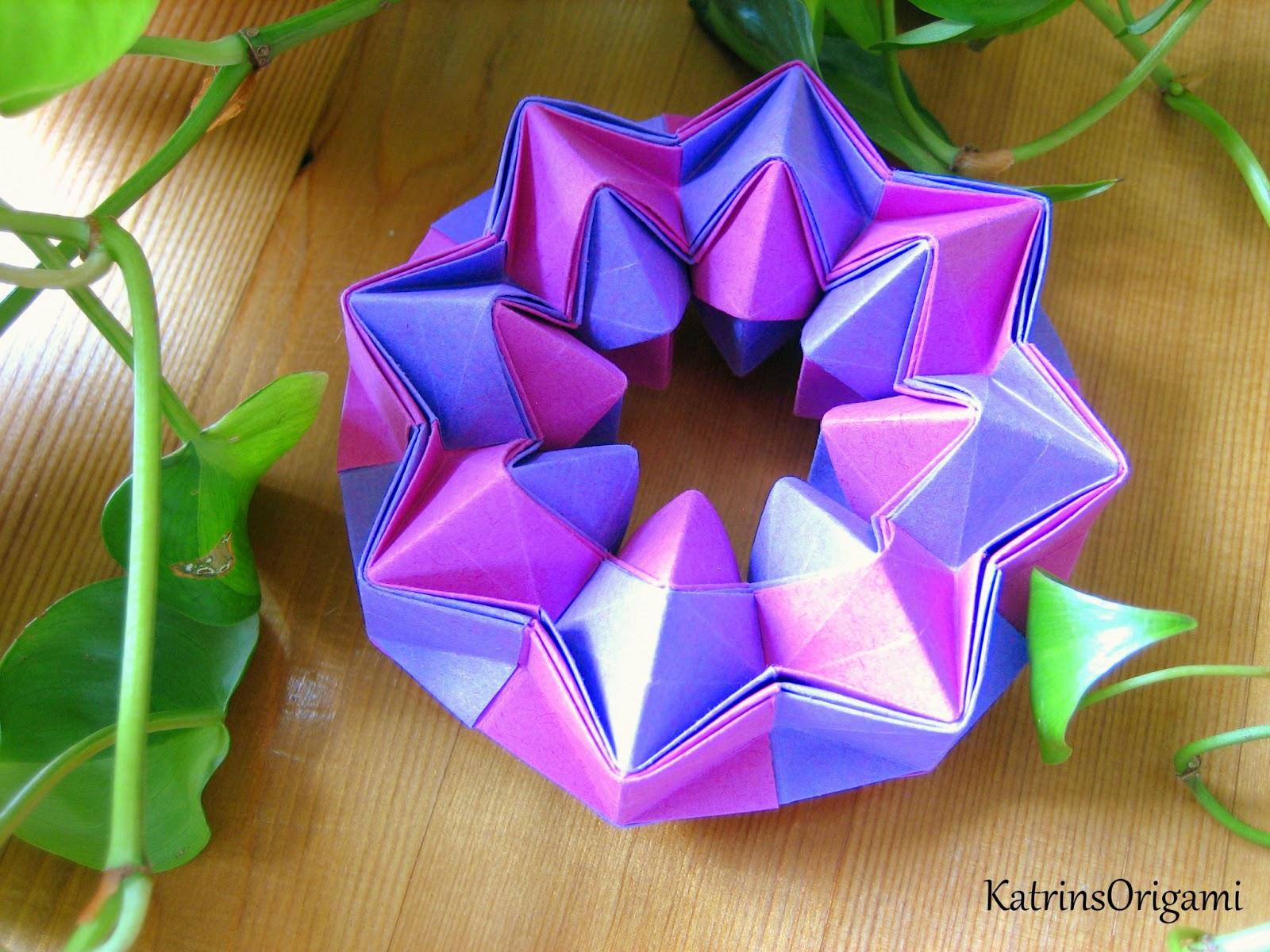Origami Die Kunst Des Papierfaltens Magic Star