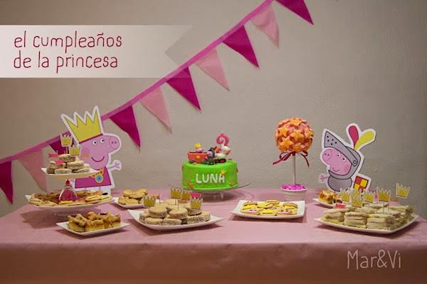 Decoracion de Fiestas Infantiles, Peppa Pig, parte 1
