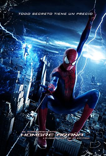 El Sorprendente Hombre Araña 2: La Amenaza De Electro 2014 DVDRip Latino