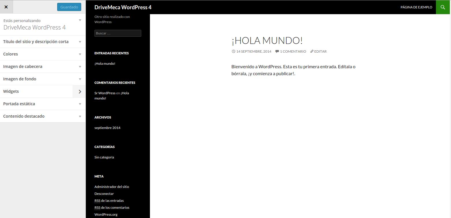 DriveMeca instalando WordPress en un Linux Centos 7 LAMP paso a paso