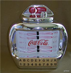 SOLD !This  Coca Cola Cookie Jar is a liscensed piece made by Gibson.