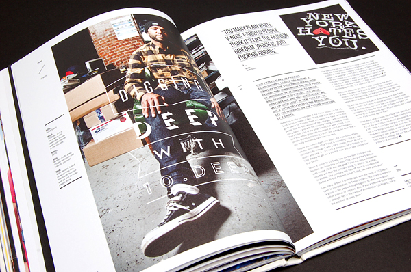 MagSpreads T world Magazine 10 T world: The Journal of T Shirt Culture   MagSpreads™