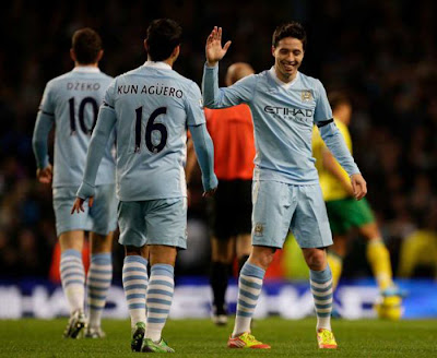 Manchester City 5 - 1 Norwich City (2)