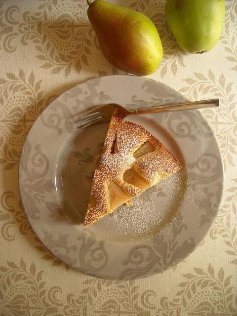 Ιταλικό κέικ αχλαδιού