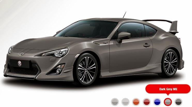 Spesifikasi dan Harga Mobil Sport Toyota 86