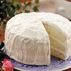 The Thrillbilly Gourmet: Simple and Delicious White Cake