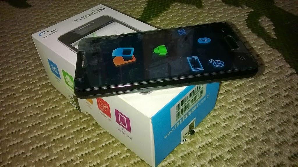 smartphone multilaser titanium 3