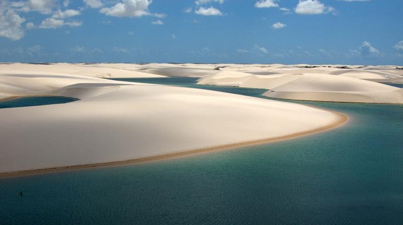 Parque Nacional Lençóis Maranhenses: Las dunas de arena con miles de lagunas de aguas cristalinas