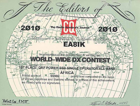 CQ WW DX SSB 2010