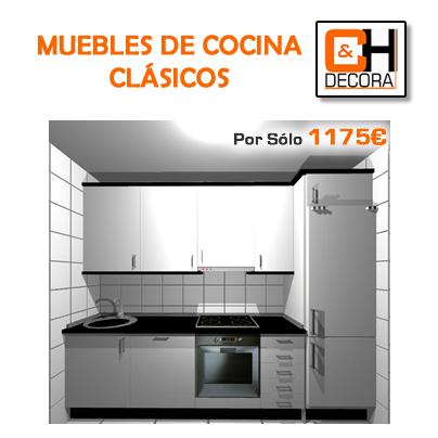 OFERTAS EN MUEBLES DE COCINA CLASICOS DE PUERTAS Y COCINAS MADRID ...