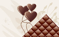 Wallpaper Chocolate Valentine