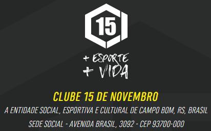 SITE CLUBE 15 DE NOVEMBRO