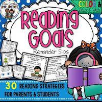 https://www.teacherspayteachers.com/Product/Reading-Goal-Reminder-Slips-for-Parents-Students-1806306