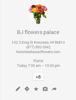 BJ Flowers Palace