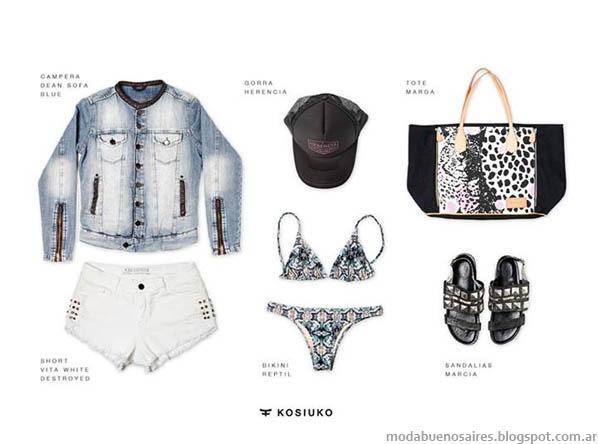 Shorts verano 2014 Moda 2014 Kosiuko