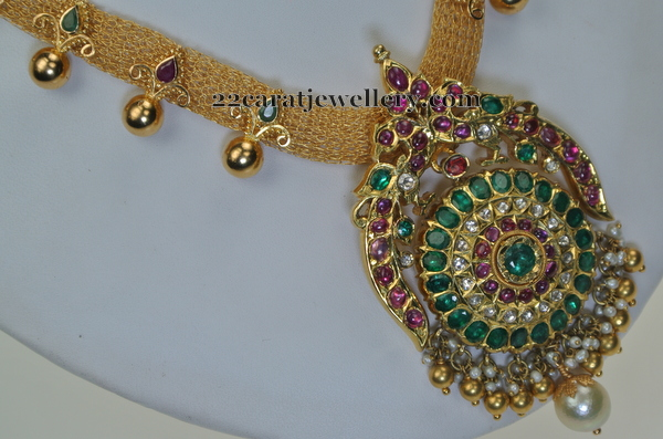 Gemstone Set by Swarnasri Jewellers