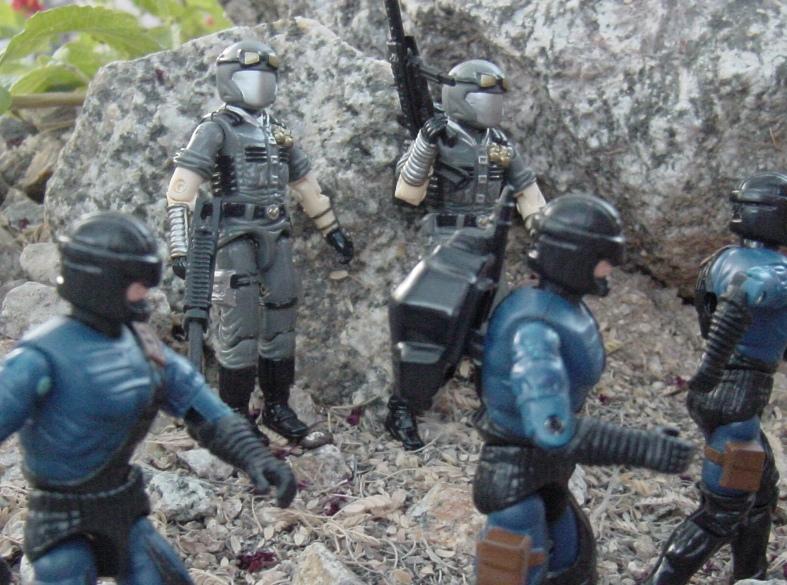 1998 Cobra Officer, TRU Exclusive, 2006 Viper Pit, 1984 ASP, 2004 Flak Viper, Nullifier, Urban Assault