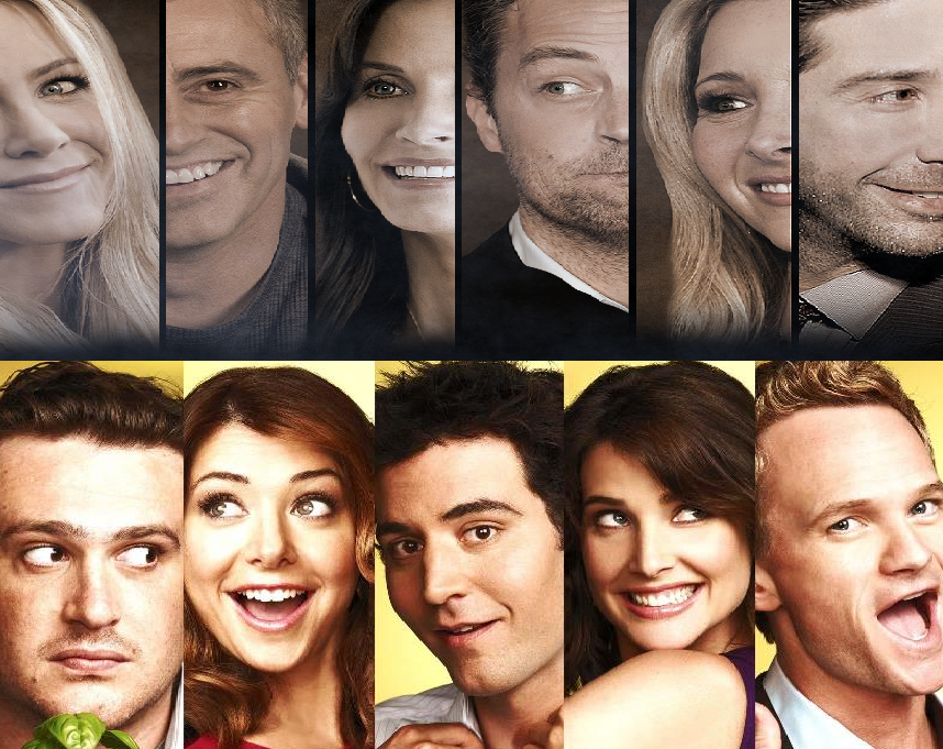 Friends Or How I Met Your Mother Yahoo : Quot friends and how i met your mother collide