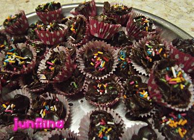 cornflakes coklat sempoi
