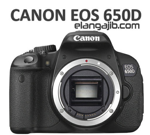 Harga dan Spesifikasi Kamera Canon EOS 650D Terbaru 2013