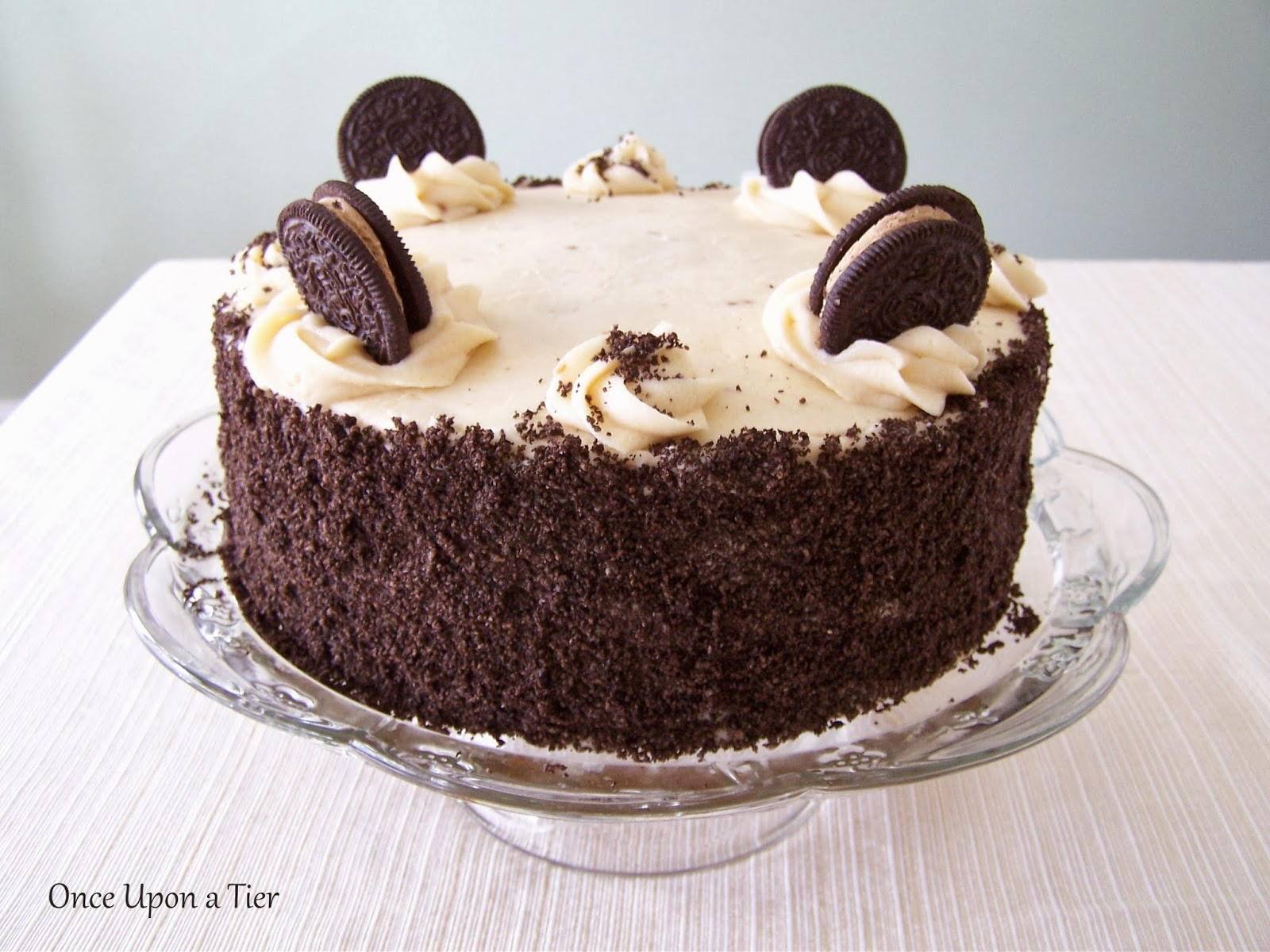 Cookie Dough Oreo Cake with Browned Butter Buttercream {Recipe}