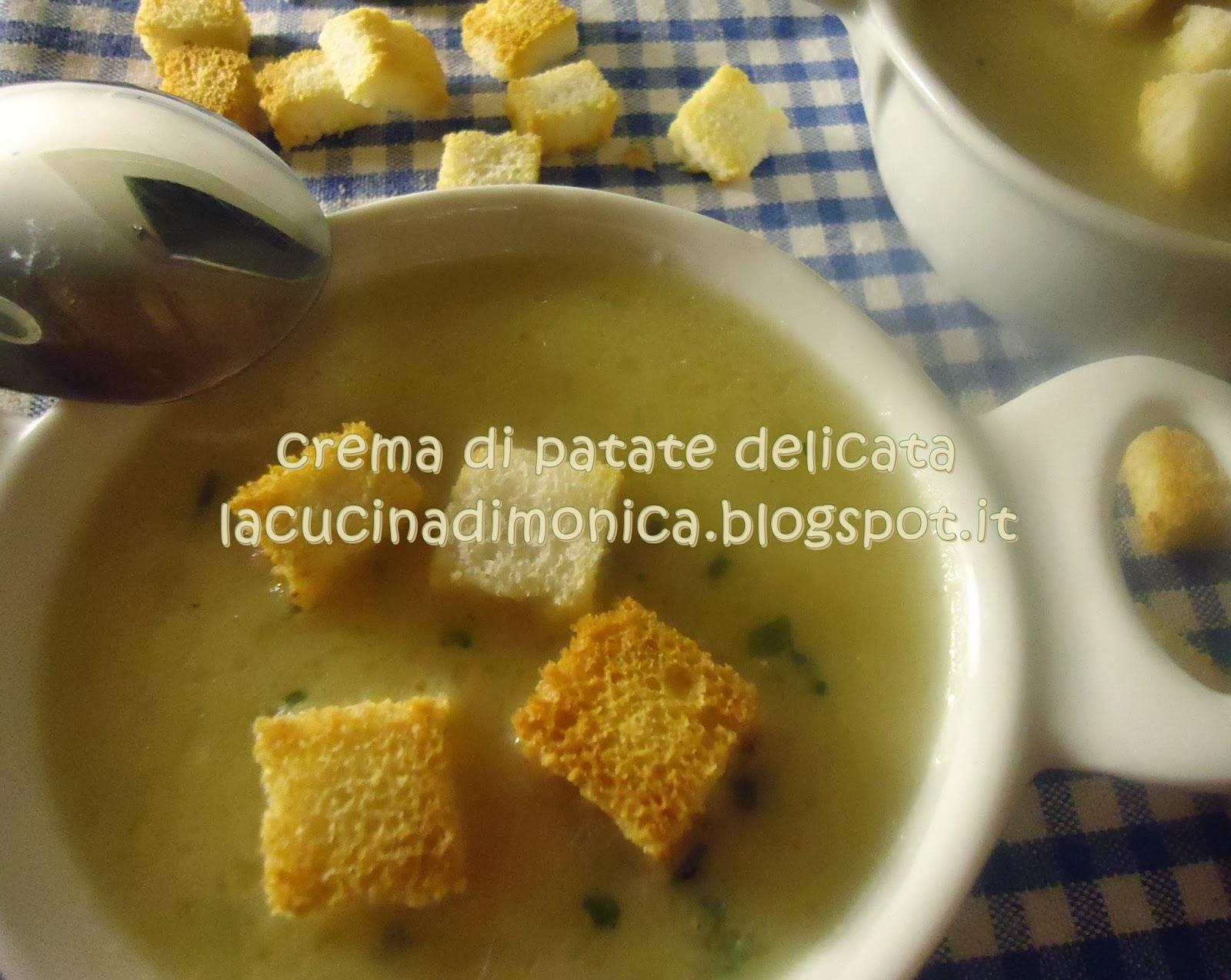 crema di patate delicata