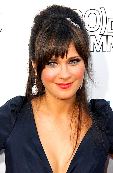 Men and Women Hairstyle: Celebrities Beautiful Bangs Hairstyle for