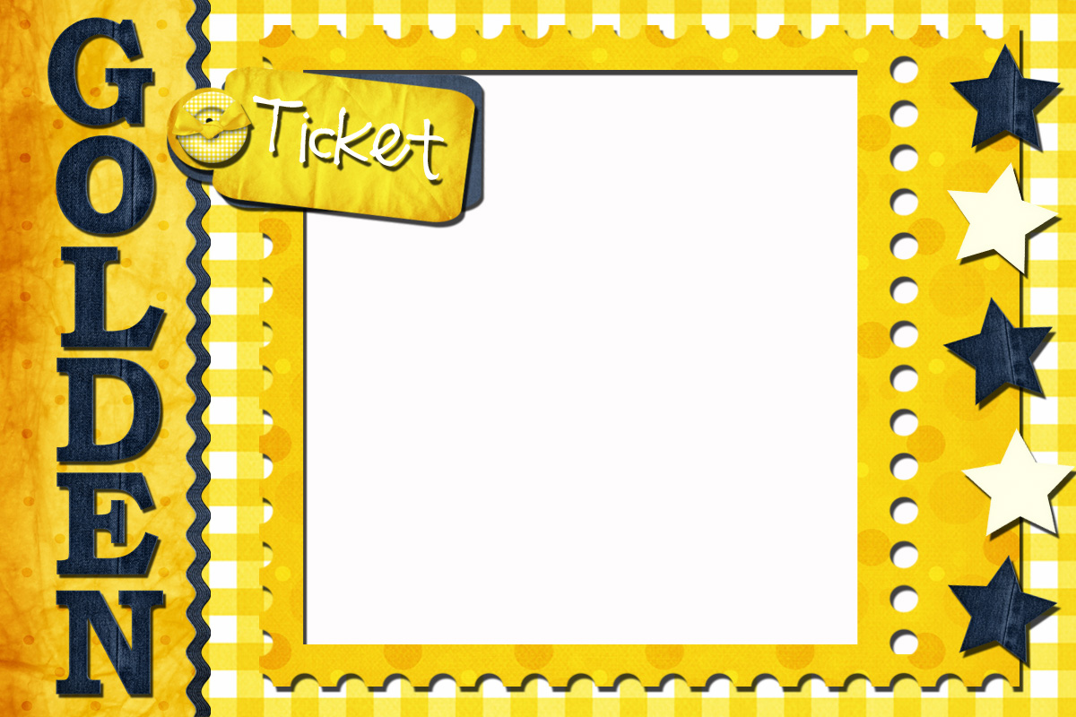 My Digital Creations: The Golden Ticket Reward System - NEW RELEASE