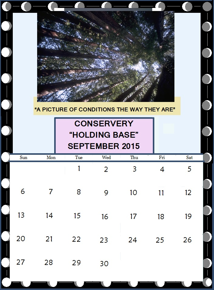 "Conservery ""Holding Base"" Calendar - Click to enlarge"