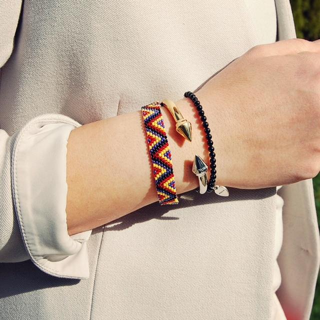 Vita Fede Two-tone Titan bracelet