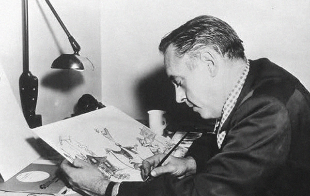 Frank Tashlin drawing