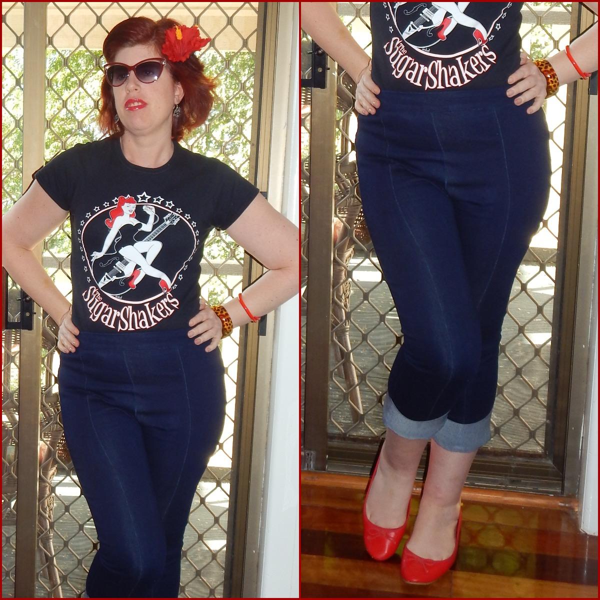 rockabilly style jeans wwwpixsharkcom images