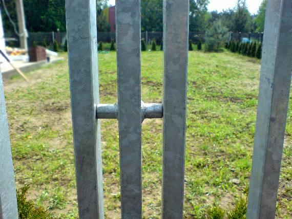 Łączenie ogrodzeń przęseł