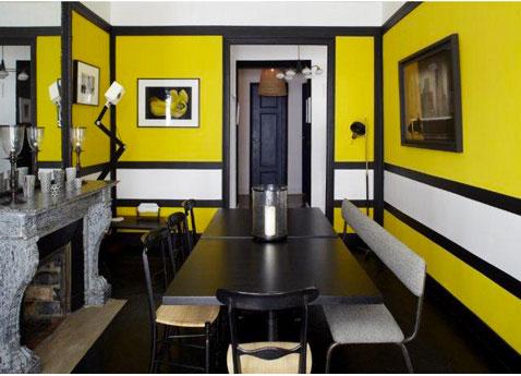 Abcr a studio d coration int rieure quelle couleur - Deco noir et jaune ...