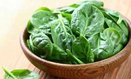 السبانخ احد اهم مصادر المغنيسيوم في الطعام