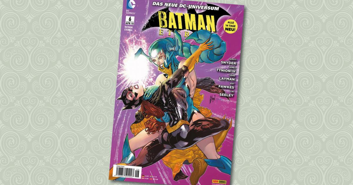 Batman Eternal 6 Panini Comic Cover