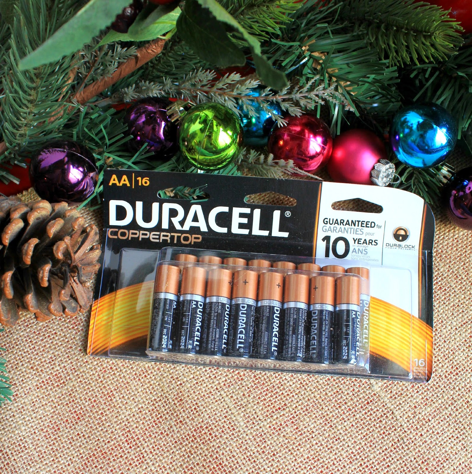 Don't forget the batteries! Power the holidays with Duracell! #PowerTheHolidays #sponsored
