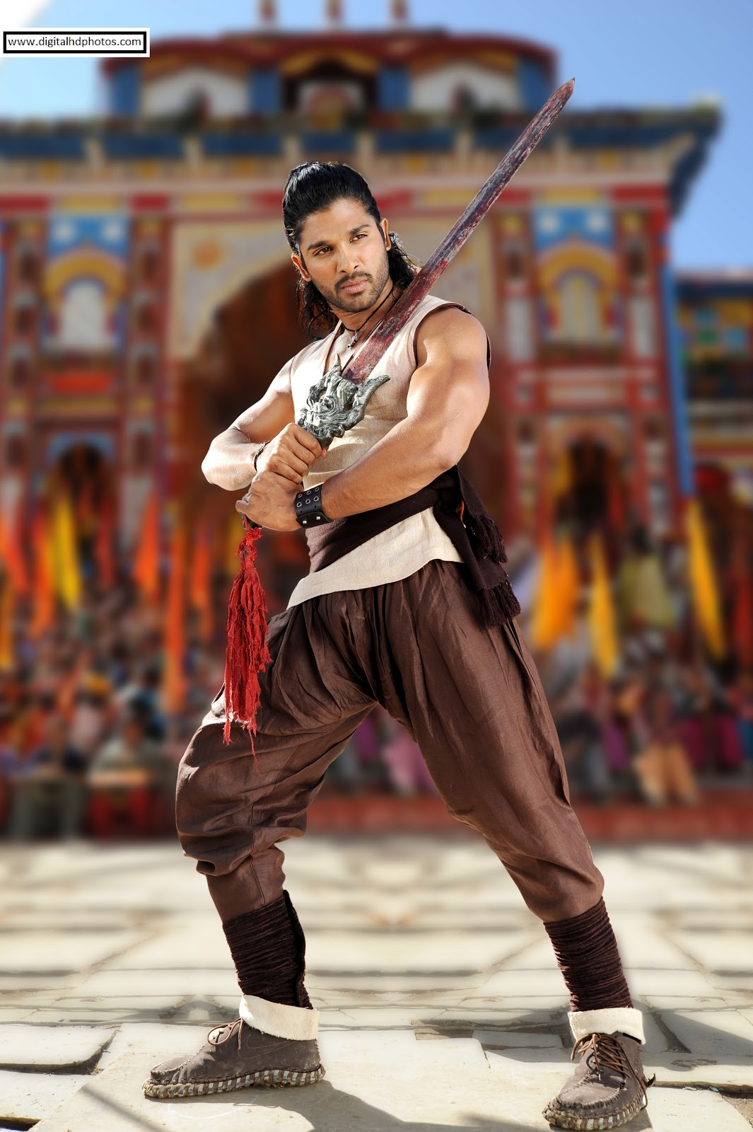allu arjun - digital hd photos