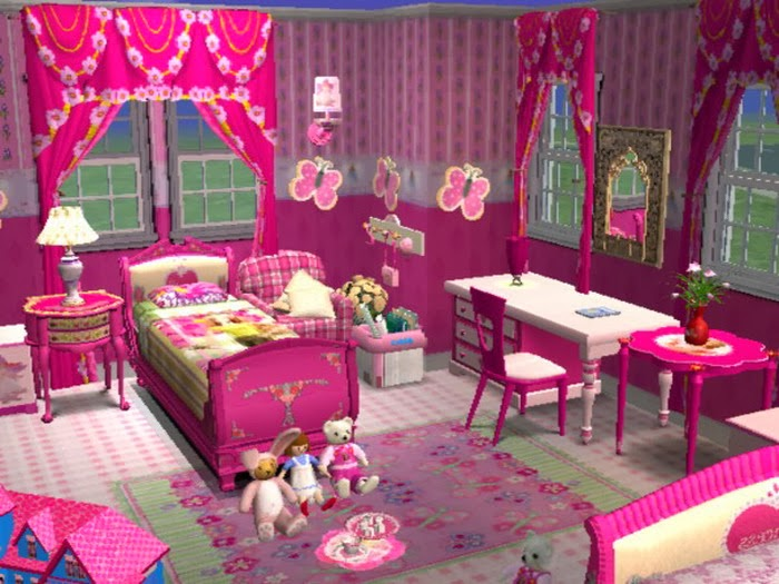 ديكورات نوم بنات , Girls bedroom decorations 2014 , غرف ...