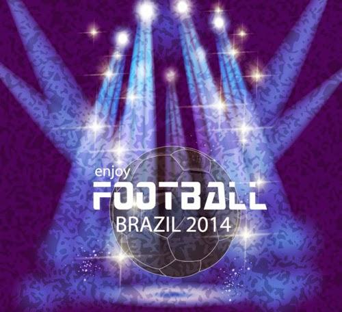 World Soccer Championship Brazil Vector