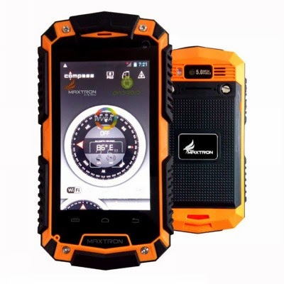 Handphone Maxtron IP67-3 tahan banting