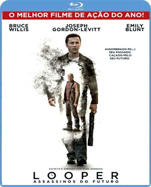 Filme Poster Looper – Assassinos do Futuro BDRip XviD Dual Audio & RMVB Dublado
