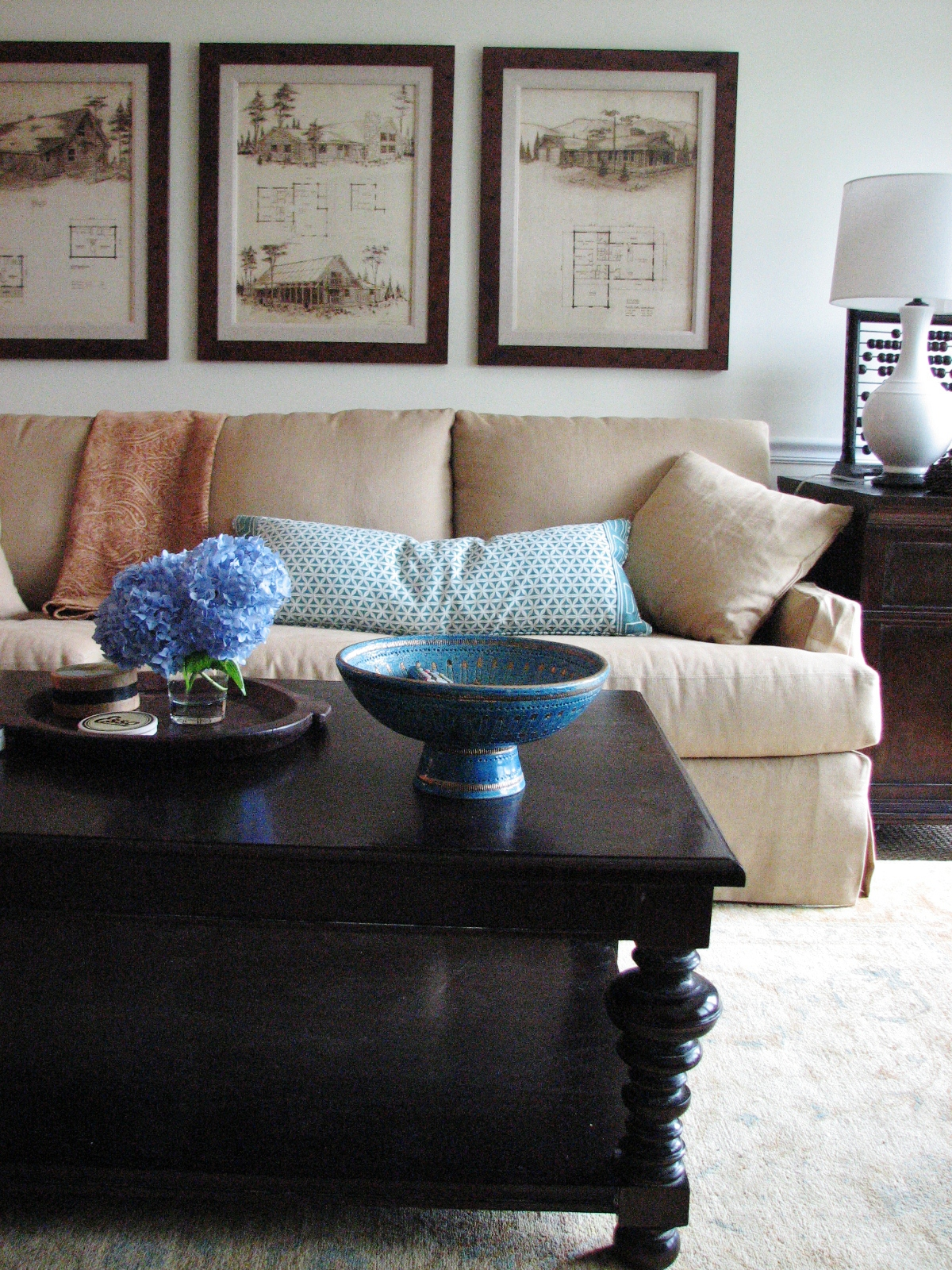 Pure Style Home: Client Family Room Sneakity Peek & a message from the ...
