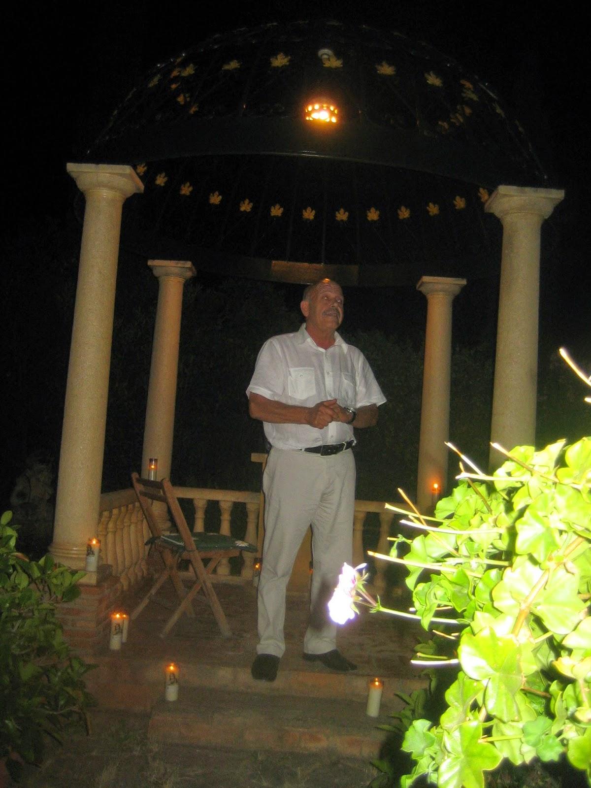 Carlos bermejo escritor textos recuperados la noche for Jardin romantico