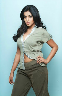 Poorna Spicy Pictureshoot Face CLoseup in an unbuttoned Thin Shirt Sensational Spicy Poorna
